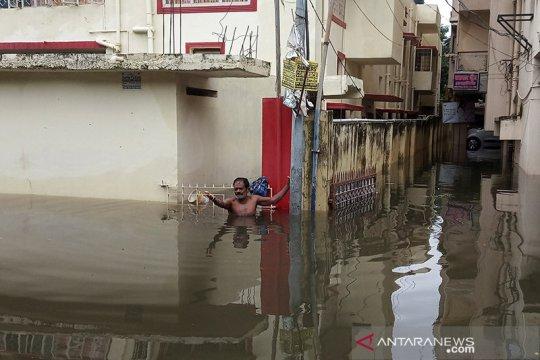 Banjir di India utara tewaskan 113 orang