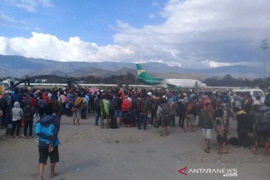 1.261 orang warga yang eksodus dari Jayawijaya, sebut bupati
