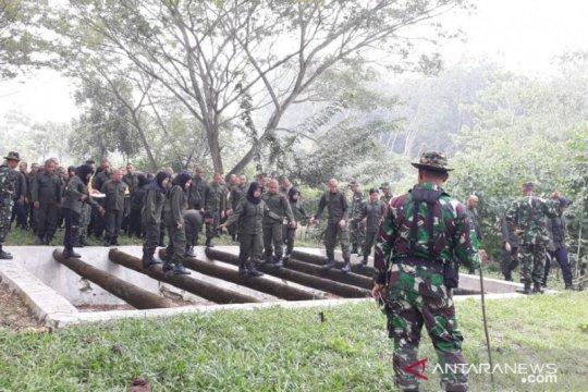 104 calon pegawai PTPN III ikut pelatihan bela negara