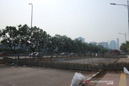 Demonstrasi mahasiswa, Polda Metro alihkan lalu-lintas di Gedung DPR