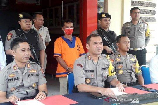 Polisi tangkap warga Barito Utara bakar lahan untuk sawit