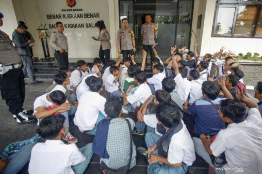 Polres Jakarta Utara amankan 173 orang hendak demo di DPR