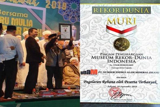 Pagelaran Rebana di Kalteng pecahkan rekor MURI