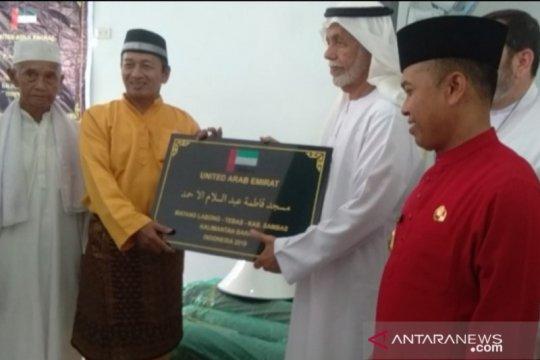 Masjid di Sambas-Kalbar bantuan Uni Emirat Arab diresmikan