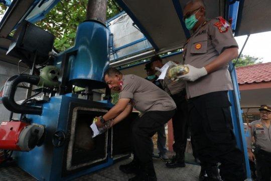 Polda Kepri memusnahkan 32 kg sabu-sabu