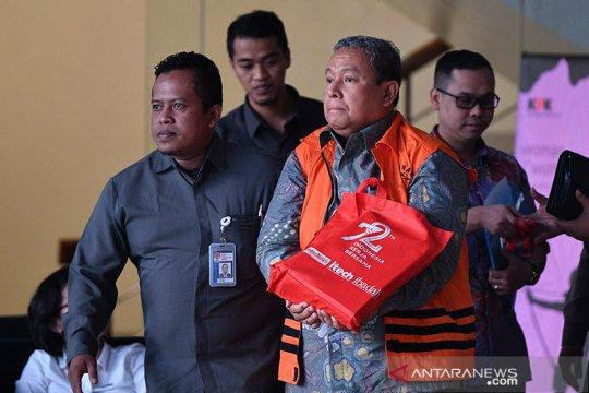 Mantan Dirut Jasa Tirta II Djoko Saputra ditahan KPK