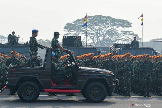 Apel kesiapan TNI jelang pelantikan Presiden dan Wapres