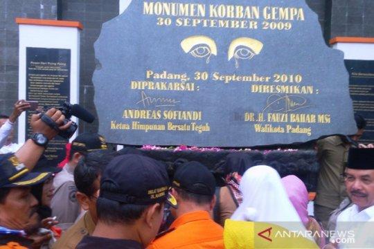 10 tahun gempa Padang, Wawako: edukasi kebencanaan harus berkelanjutan