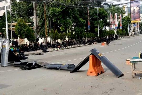 Amankan Jayapura, 2.424 Brimob dibantu Marinir & Kostrad