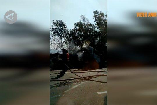 Kecelakaan beruntun kembali terjadi di Tol Cipularang