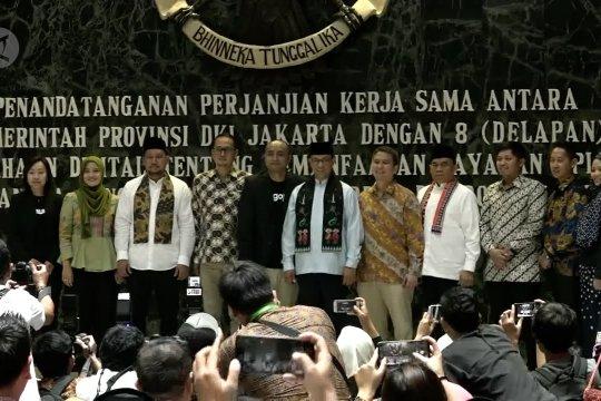 Tingkatkan pelayanan publik, Pemprov DKI Jakarta gandeng 8 aplikasi digital