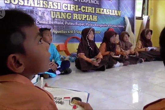 BI edukasi siswa kenali uang rupiah di pulau terluar Indonesia