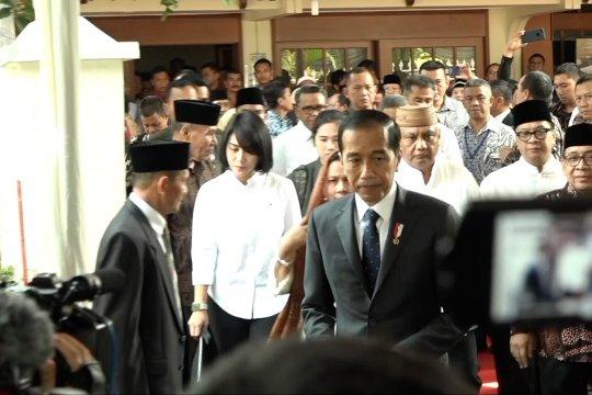 Habibie wafat, Presiden Jokowi datangi rumah duka