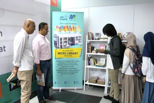 Ruang Baca Buku kini hadir di stasiun MRT