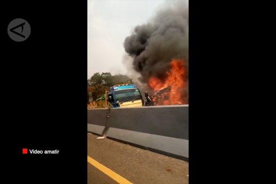 Sopir truk penyebab kecelakaan beruntun dipastikan meninggal dunia