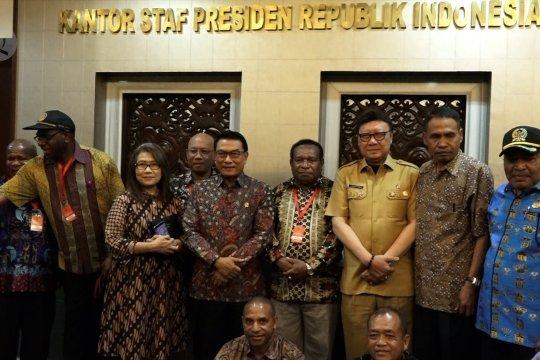Temui DPRD se-Papua, Moeldoko respon dialog dengan ULMWP dan KNPB