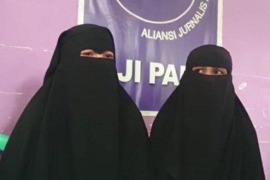 Istri terduga teroris di Palu bantah suami mereka terlibat