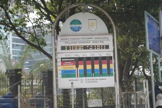 Kualitas udara di Riau sempat sentuh level berbahaya