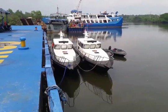 Polda Kaltim kerahkan 8 kapal bantu atasi karhutla