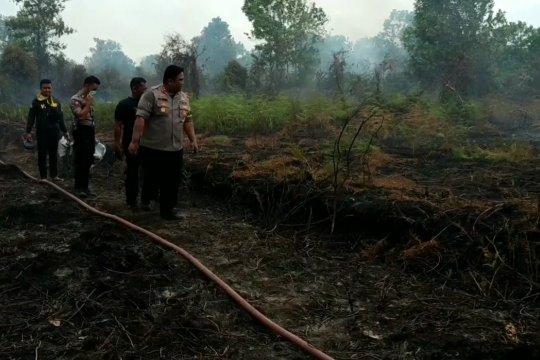 Polisi panggil 60 pemilik lahan terbakar di Sampit