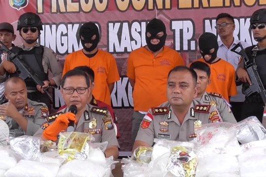 Polres Bintan gagalkan penyelundupan 118kg sabu
