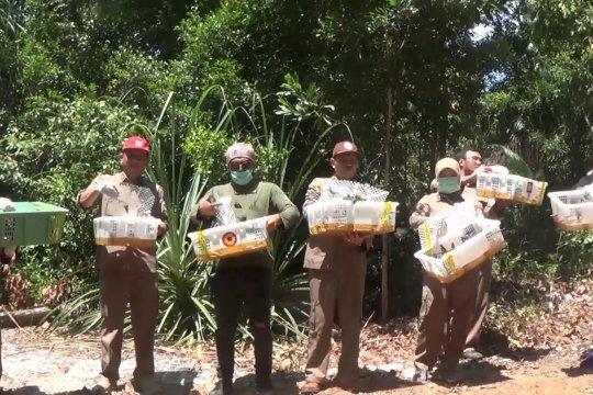 Ribuan kolibri dilepas liarkan di hutan lindung Sungailiat