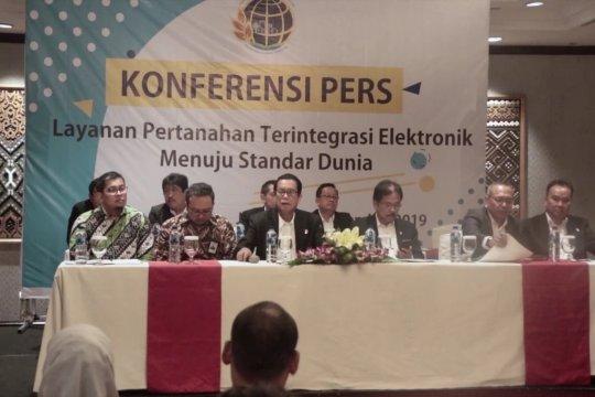 Kementerian ATR/BPN meluncurkan sistem layanan elektronik