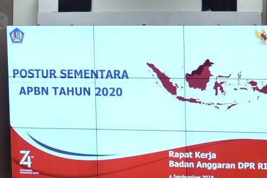 Banggar DPR resmikan postur sementara RAPBN 2020