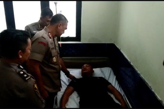 Kapolda Papua tinjau 6 anggota Brimob korban bentrok