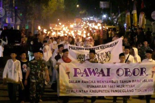 Ribuan warga Pandeglang meriahkan Festival 1 Muharam