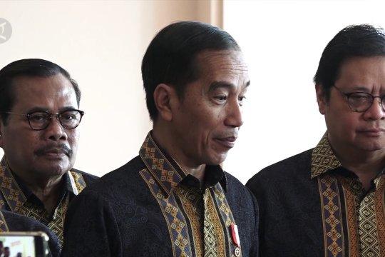 Presiden sebut dalam UU KPK tak ada pengembalian mandat
