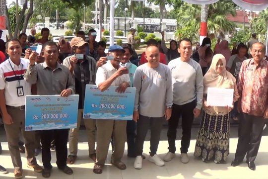 177 nelayan terima asuransi dengan nilai pertanggungan Rp.200 juta