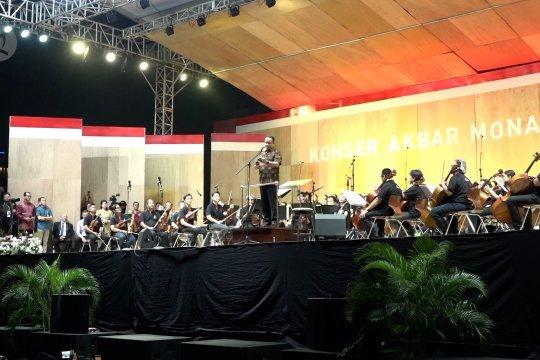 Anies buka konser musik klasik pertama di Monas
