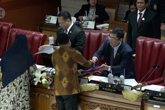 DPR sepakati Revisi UU KPK