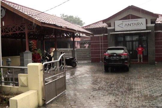Hujan guyur Kota Palangka Raya