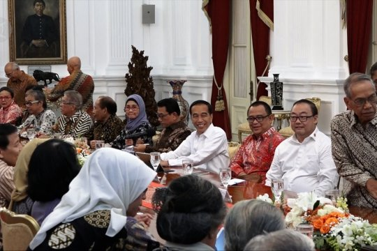 Jokowi tegaskan komitmen pertahankan pilar demokrasi