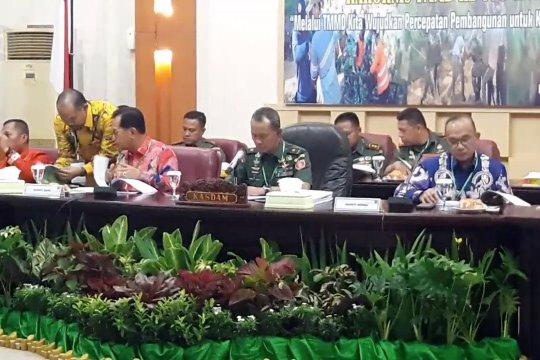 Kodam VI Mulawarman kirim 1 Pleton  pasukan ke PPU