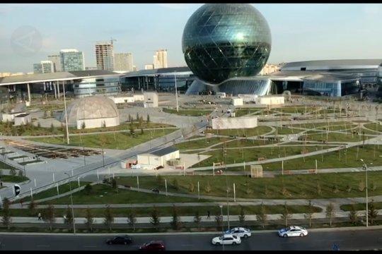 Menengok Nur Sultan, ibu kota baru Kazakhstan