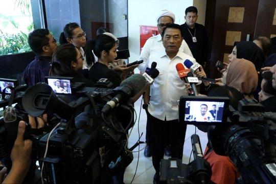 Moeldoko: Presiden tidak ingin ubah komitmen berantas korupsi