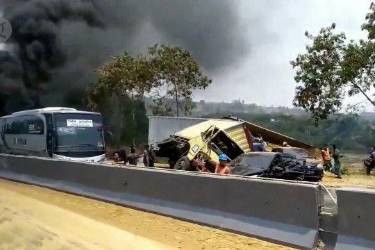 Polisi periksa perusahan tambang terkait kecelakaan di Tol Cipularang