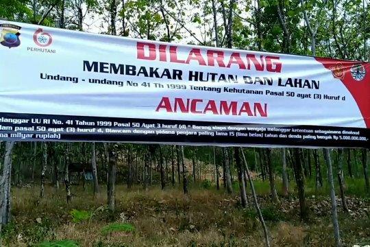 Cegah kebakaran hutan, TNI dan Perhutani sosialisasi