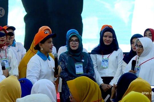 Ibu negara meresmikan Gerakan Indonesia Bersih