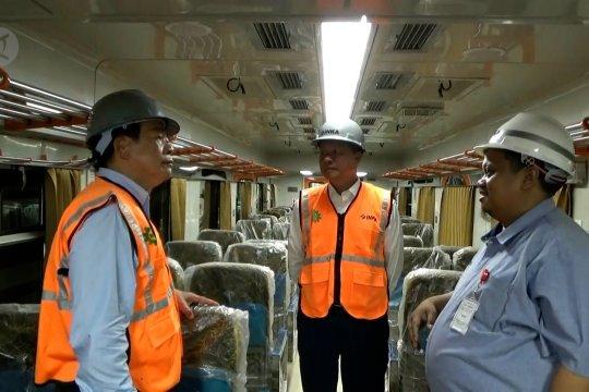 Kunjungi PT Inka, Delegasi Kamboja kagumi kereta buatan Indonesia