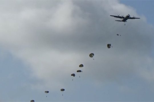 Panglima TNI & Kapolri  saksikan latihan PPRC di Jayapura