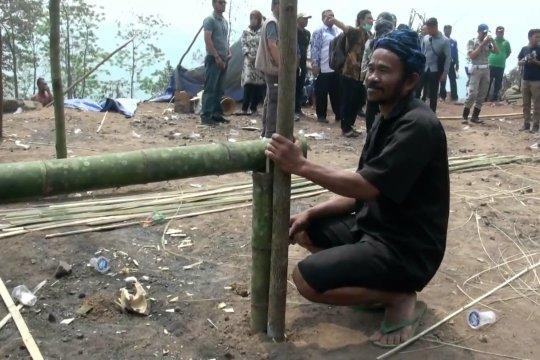 Pemkab Lebak janjikan  pembangunan kembali rumah warga Baduy