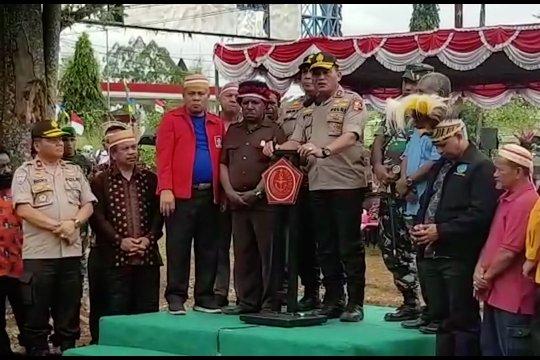 Aparat dan masyarakat bakar batu sepakat jaga Papua damai