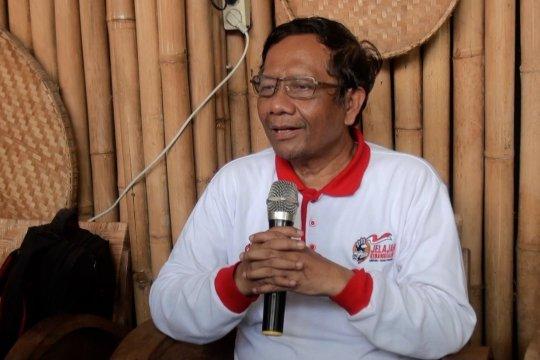 Mahfud MD:  Komisioner KPK bukan mandataris Presiden