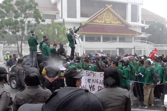 Polresta Barelang kawal aksi damai mahasiswa Batam