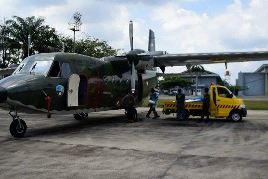 Empat  pesawat dikerahkan untuk modifikasi cuaca di Riau