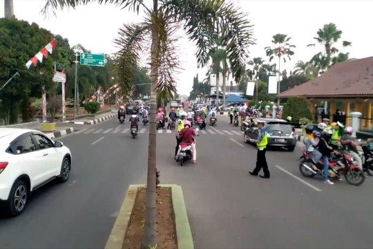 Kesadaran tertib berlalu lintas warga Pandeglang membaik